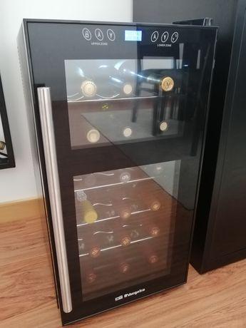 Cave de vinho / Vinoteca (duas zonas) 18 garrafas