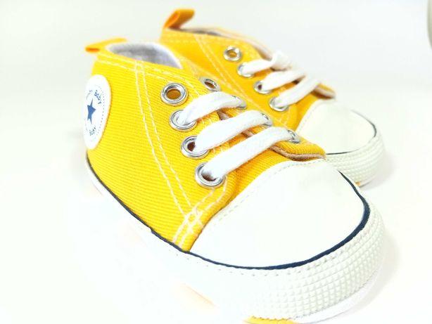 Ténis bebé - tamanho 11 - amarelo