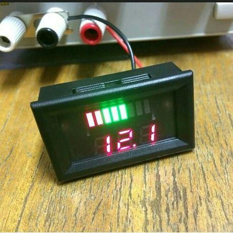 Индикатор уровня заряда свинцовокислотных АКБ 12 вольт