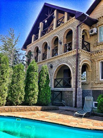 Просторный дом с дорогим ремонтом, бассейн, сауна Днепр, пер.Дуговой