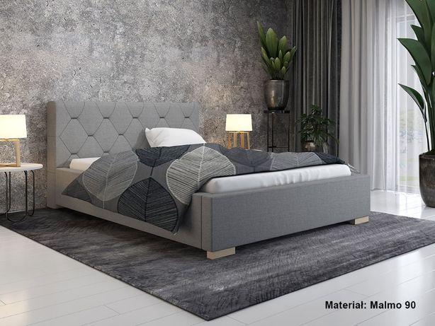 Łóżko LUX17 180x200 pikowane stelaż + pojemnik