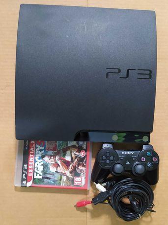 Konsola PS3 Slim 120GB, CFW 4.87 + Pad i gra