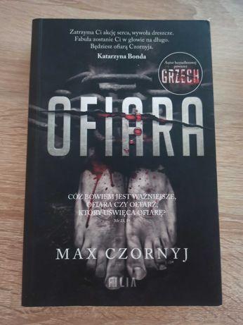 """Książka """"Ofiara"""" Max Czornyj"""