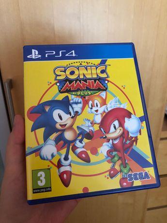 Gra na PlayStation 4 PS4 Sonic Mania, 2 graczy na 2 pady