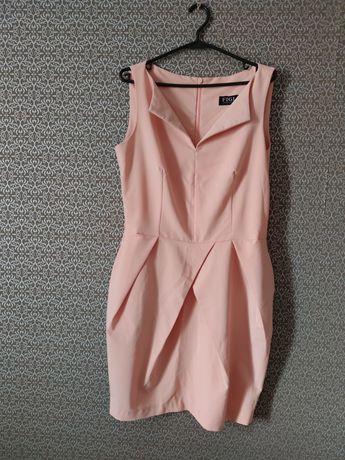 Sukienka Figl rozm XL stan idealny. Na komunię, chrzest, wesele