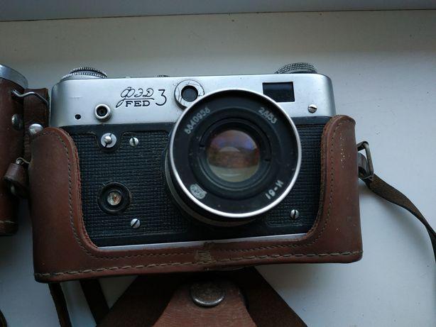 Фотоапарати Киев і FED3