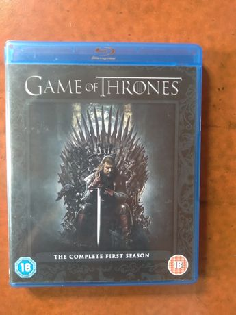 DVDs como novos Game of thrones