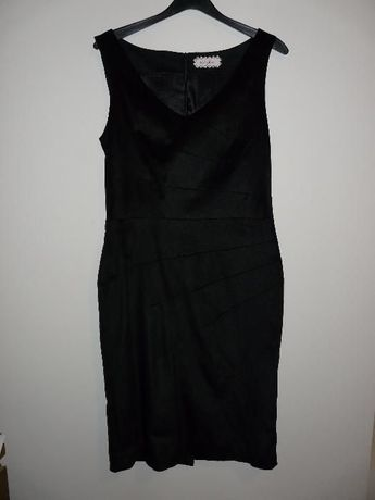 Vestido de noite preto Globe Tamanho 36