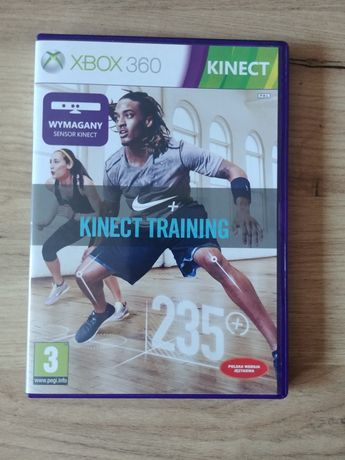 Gra na xbox 360 Nike kinect training