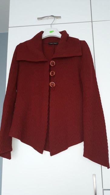 Sweter rudy ciepły