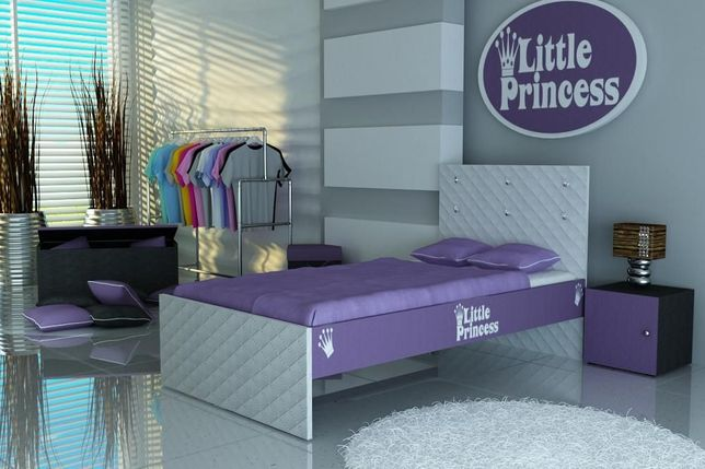Łóżko dziecięce,łóżko dla dziecka,łóżko dla dziewczynki z materacem