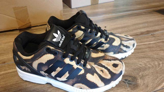 Buty Adidas ZX FLUX 37 skora węża, jak nowe