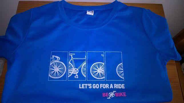 T Shirt Camisola de Ciclista Mulher