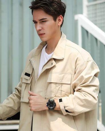 Męski zegarek wojskowy wodoodporny SMAEL Sport zegarek armia led cyfro