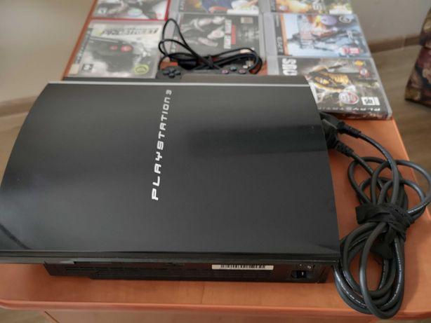 Playstation 3 CECHL04 80Gb Ps 3 Ps3 FAT 80Gb 9*/10*Ewentualnie zamiana