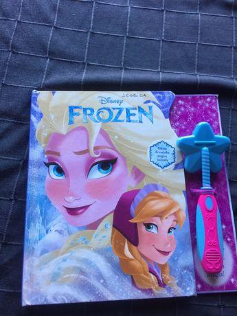 Livro Frozen interativo