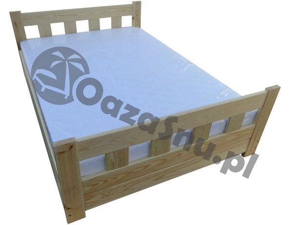 Łóżko sypialnia sosnowe otwierane z wysokimi szczytami WENECJA 140x200
