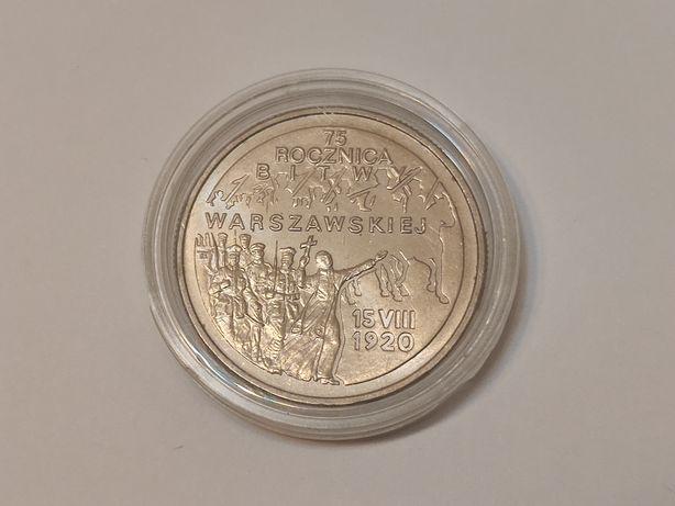 1995r. Moneta 2zł Bitwa Warszawska, mennicza
