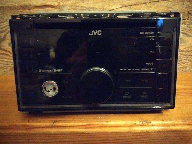 Radio samochodowe firmy JVC