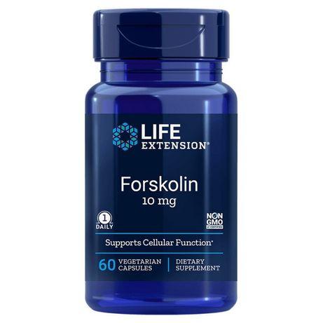Forskolin 10mg 60 vcaps Life Extension
