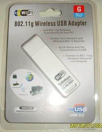USB 2.0 Wi-Fi адаптер 54Mbps 802.11g DS-WL54G+