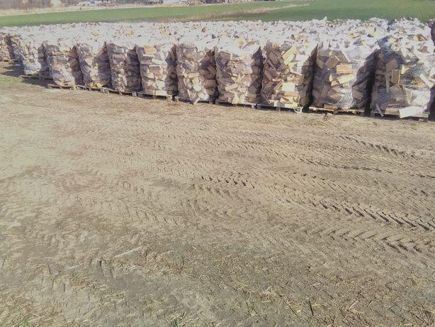 Drewno kominkowe-opałowe na paletach Wolsztyn,Grodzisk Wlkp,Opalenica