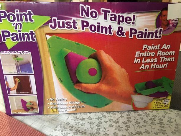 Precyzyjny wałek do malowania profilowany łezka Point'n Paint NOWY
