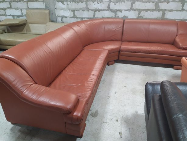 Кожаный угловой диван «Alicante» из Германии! (010815)
