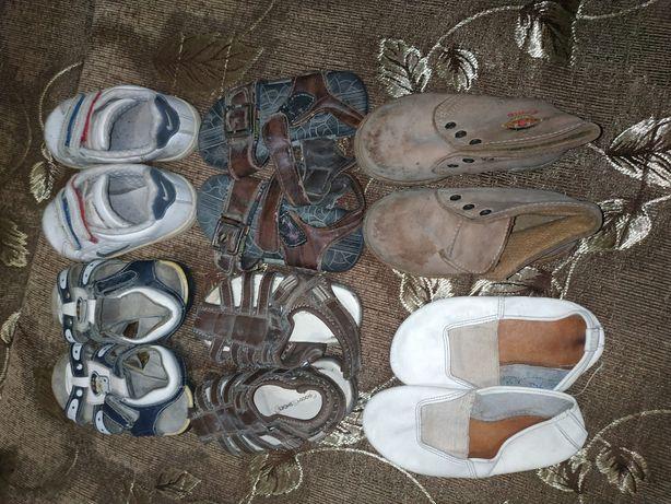 Обувь детская на годик