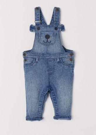 джинсовый комбез hm 9-12
