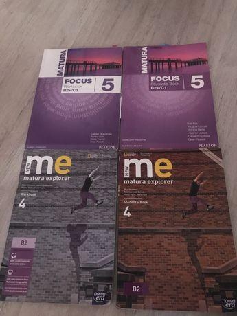 podręczniki do j. angielskiego matura explorer 4 i matura focus 5