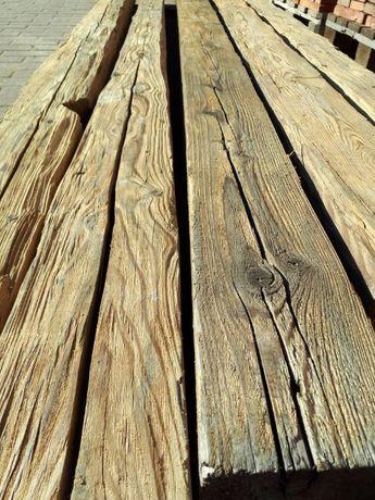 Belki , krokwie , kantówki,deski boazeryjne,deski ozdobne-stare drzewo