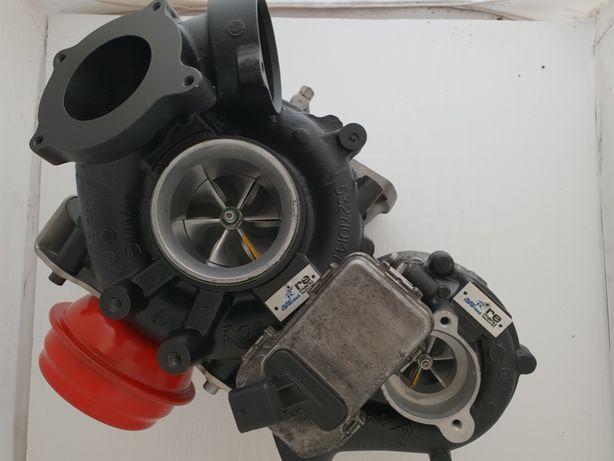 Turbosprężarka Hybryda Bi-turbo BMW 335,535,635,X3,X5,X6 3.0 286KM Kpl