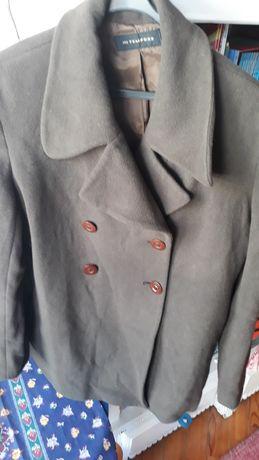 Casaco de Lã Castanho