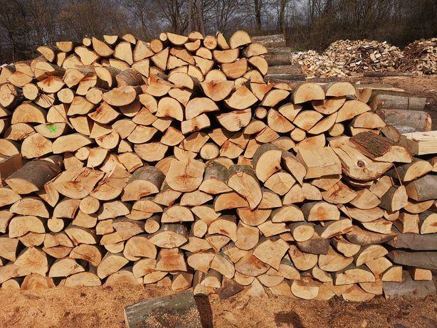 Drewno kominkowe opałowe dąb buk jesion grab brzoza olcha sosna