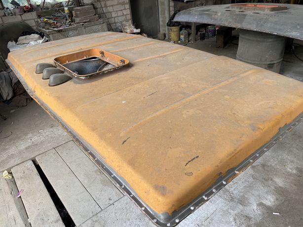Низкая крыша кабины камаз