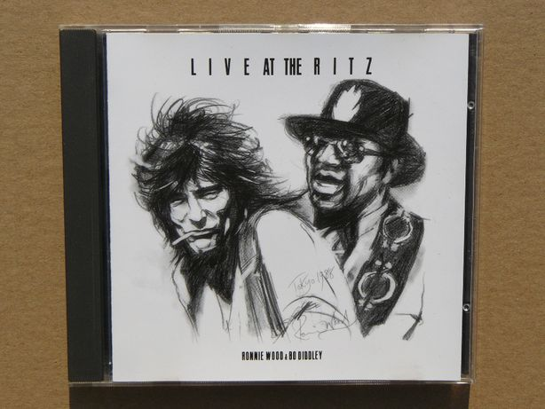cd Ronnie Wood / Bo Diddley - Live at the Ritz 1992 1wyd.EU Germany