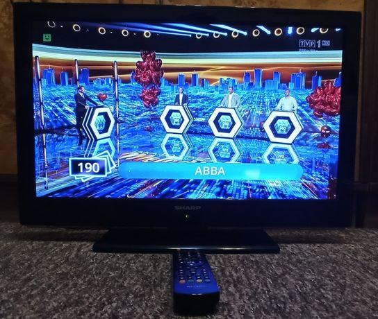Telewizor Monitor SHARP LED 24 cali ma Dekoder DVB-T/C pilot DOWÓZ