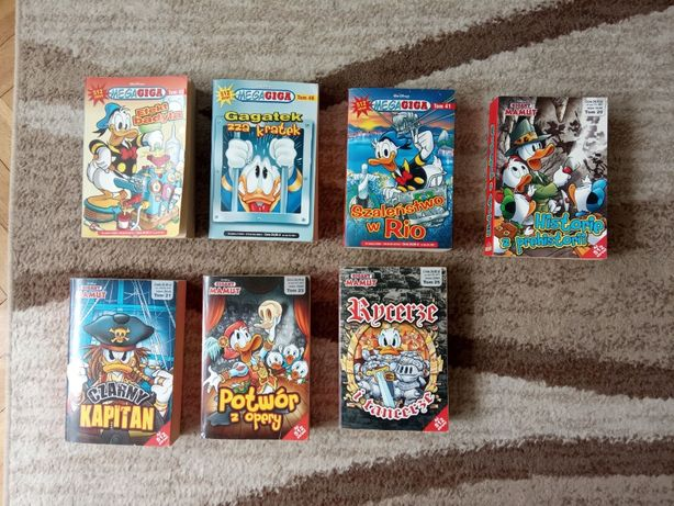 Mega Giga / Gigant Mamut - Seria komiksów Walt Disney