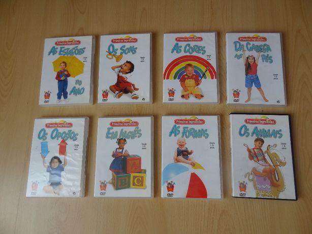 DVD didatico - Primeiras impressões