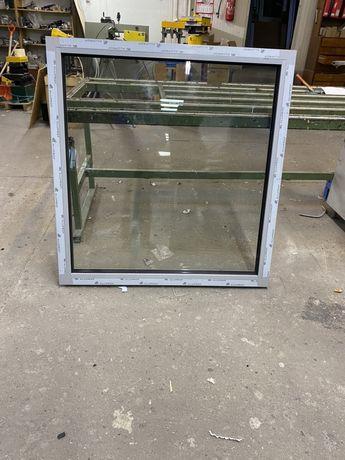 Okno aluminiowe  stałe