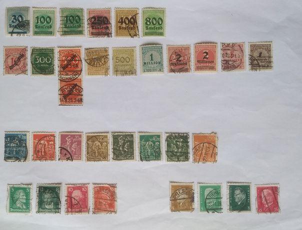 Почтовые марки/Рейх