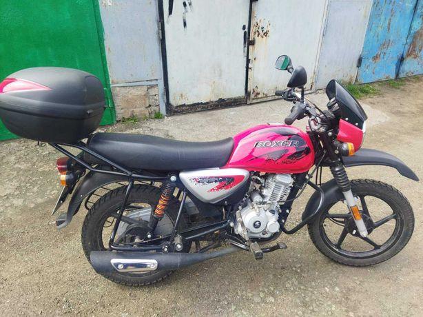 Продам или обменяю на авто мотоцикл Bajaj Boxer bm 125 x 2019