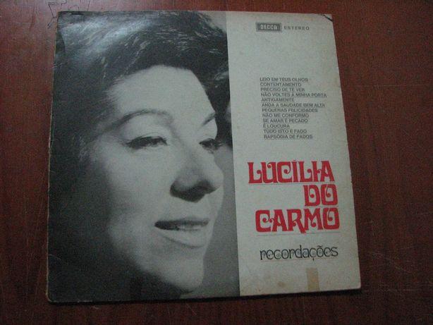 disco de vinil lucilia do carmo recordaçoes