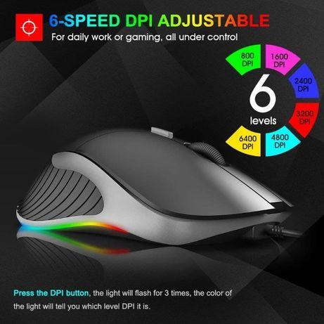 Игровая компьютерная мышь IMice X6 Professional 6400dpi