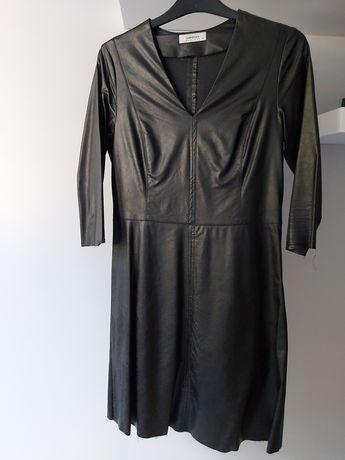 Sukienka z imitacja skóry firmy LEMONADA rozmiar S 36