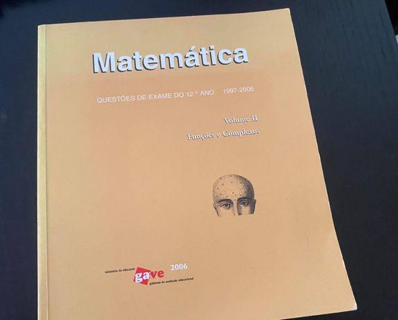 Livro Questões Exame Matemática 12º ano