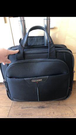 Samsonite torba na laptopa pilotka na kółkach