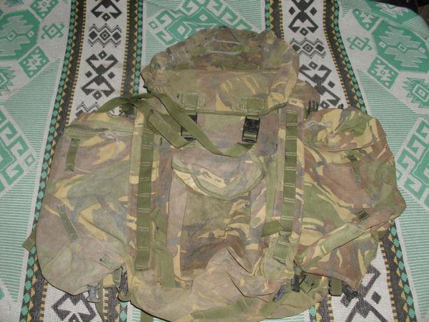 Британский армейский рюкзак БЕРГЕН (BRITISH ARMY BERGEN) DPM IRR Short