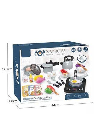 Набор детская кухня/плита/набор детской посуды/ светом и музыкой